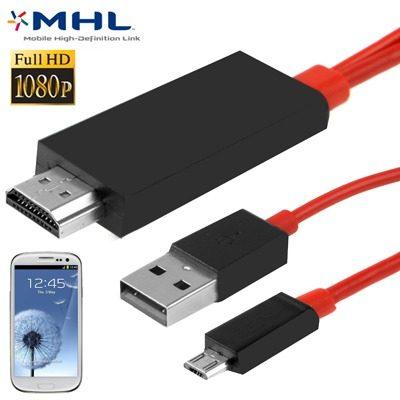 Cable Cargador Adaptador Video Audio 2m Hd p Mhl M F0mg