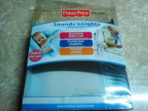 Monitor De Sonido Para Bebe Fisher Price (woki Toki)