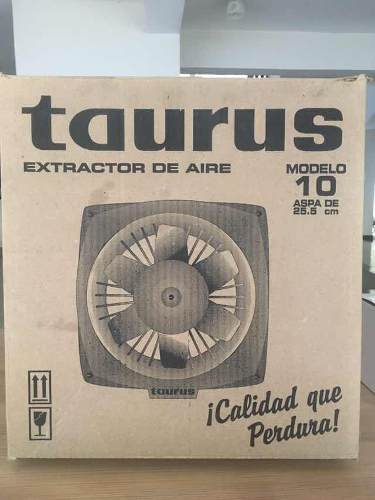 Nuevo Sin Usar!! Extractor De Aire Taurus 10 Pulgadas