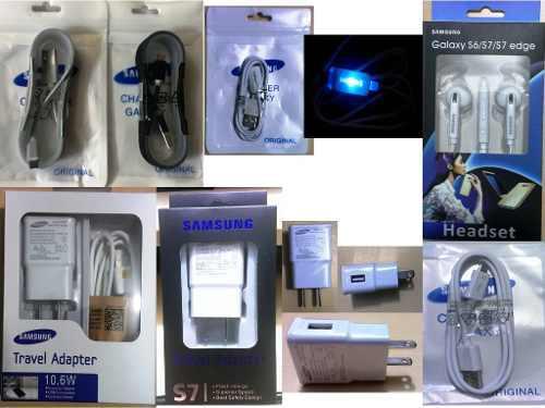Cables Micro Usb Cargadores 2 Amp Audifonos Samsung