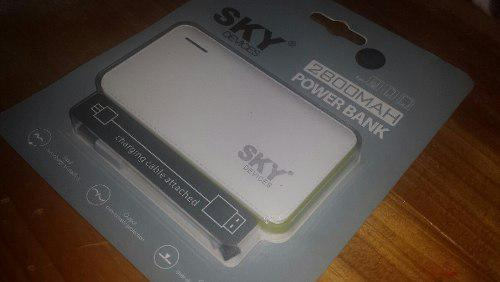 Cargador Portatil Power Bank Original Sky Nuevos