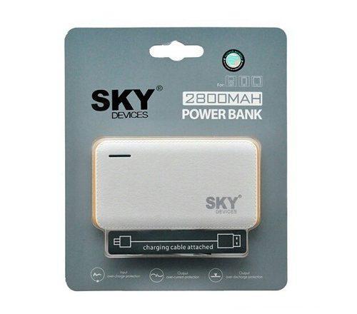 Cargador Portatil Power Bank Sky Original 2800 Mah