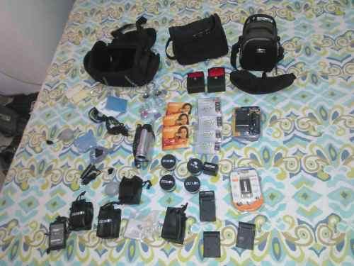 Combo Camara De Video Sony Handycam