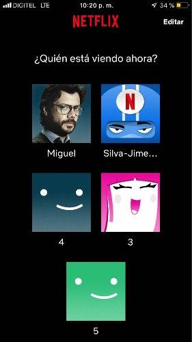 Comparto Mi Cuenta Netflix Original Renovable Sin Caídas