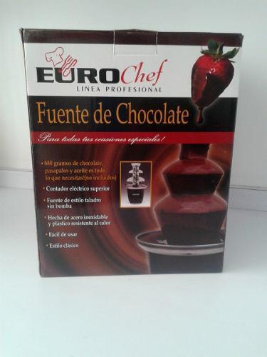 Fuente Chocolatera Eurochef 3 Niveles Nueva