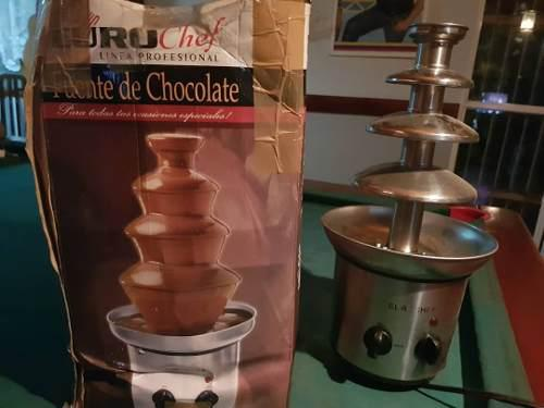 Fuente De Chocolate 4 Niveles Euro Chef Usada