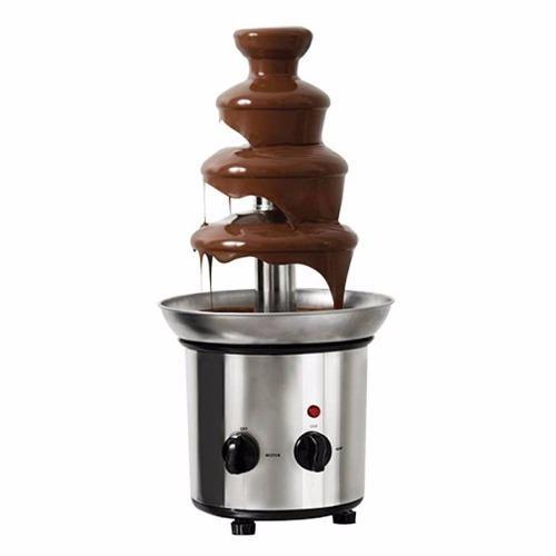 Fuente De Chocolate, Coctelera, Bandeja Y Barra Chocol