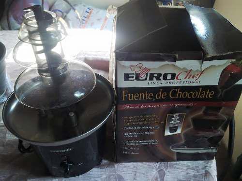 Fuente Para Chocolate Eurochef