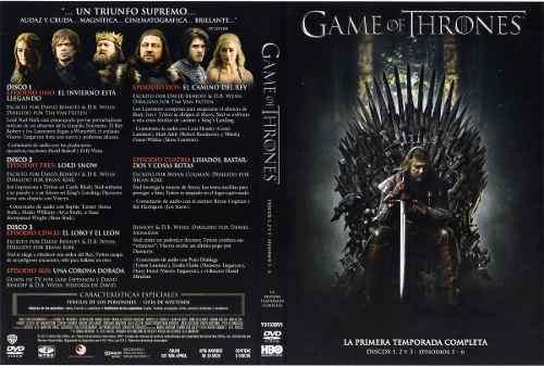Game Of Thrones Juego De Tronos Serie Oficial Completa Nueva