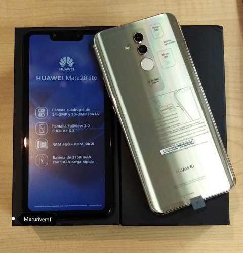 Huawei Mate 20 Lite 64gb Y 4gb De Ram Dual Sim
