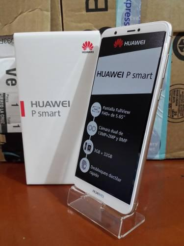 Huawei P Smart De 32 Gb / 3 Gb (230 T R U M P S) Nuevo!