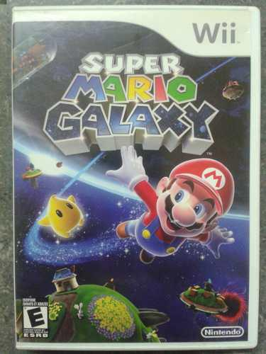 Juego Wii Super Mario Galaxy Original
