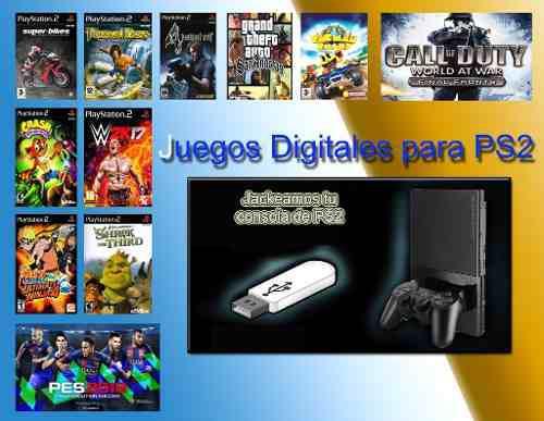 Juegos Digitales Para Playstation 2