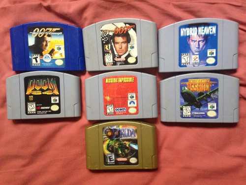 Juegos Nintendo 64 Varios Zelda Goldeneye