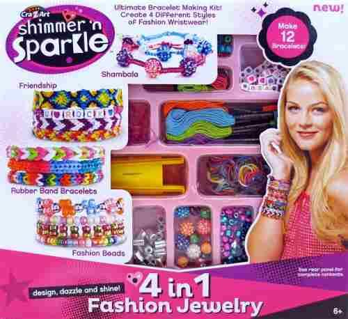 Kit De Creaciones De Joyería 4 En 1 Shimmer 'n Sparkle