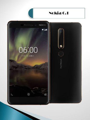 Nokia 6.1 32gb De Mem. Interna / 3gb De Mem. Ram