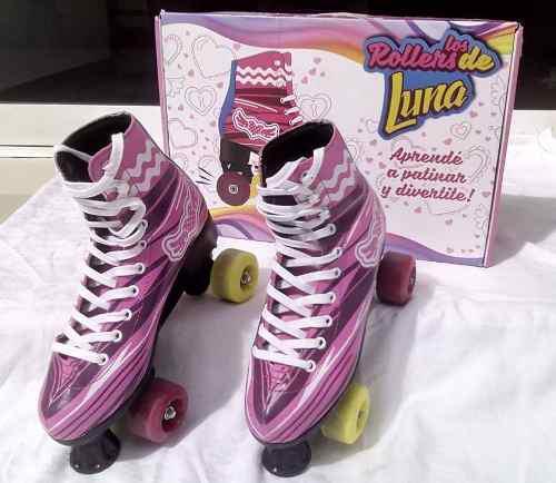 Patines De Soy Luna (los Rollers De Luna), Talla 28