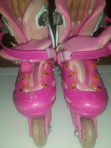 Patines Lineales Barbie Talla 32-35
