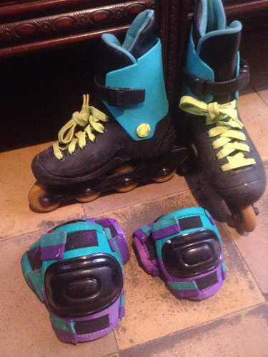 Patines Lineales Talla: 36 (ajustables A 35-37)