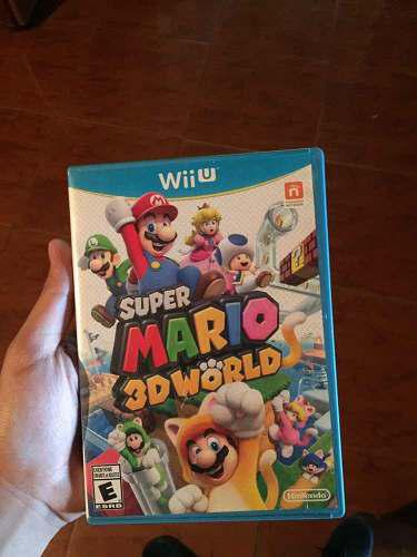 Súper Mario 3d World Para Nintendo Wii U, Oferta