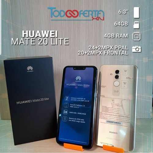 Telefono Celular Huawei Mate 20 Lite 4gb Ram 64gb Rom Dispon