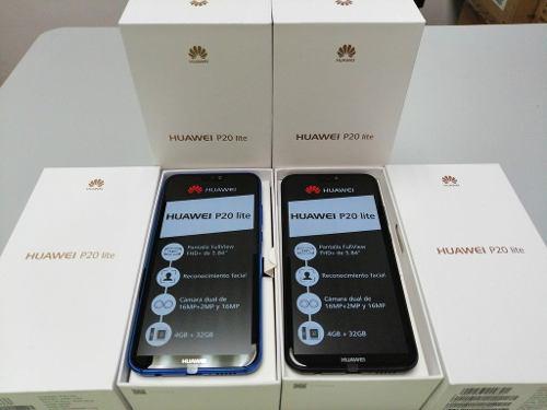 Telefono Huawei P20 Lite 4gb + 32gb En295us