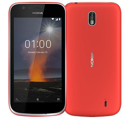 Telefono Nokia 1 Red, Android 8.1 Oreo, Liberado Dual Sim