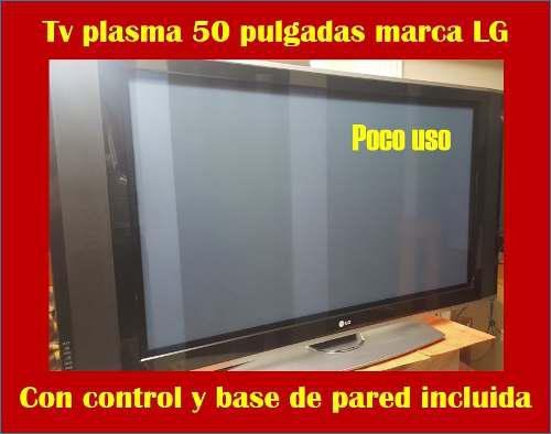 Tv Plasma 50 Pulgadas Lg Con Base De Pared Incluida