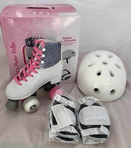 Patines Ambar Originales Con Kit De Proteccion