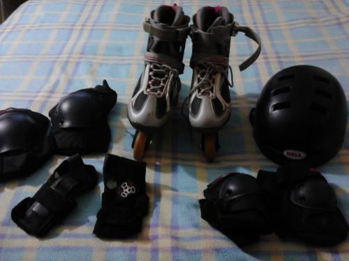Patines Bladerunner Linea Con Kit De Proteccion. 60$ Roller
