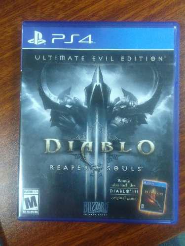 Diablo 3 Ultimate Evil Edition Juegos Ps4 Fisico 0 Detalle