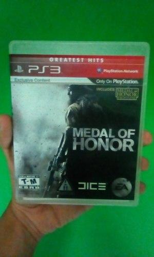 Juego Medal Of Honor Para Playstation 3