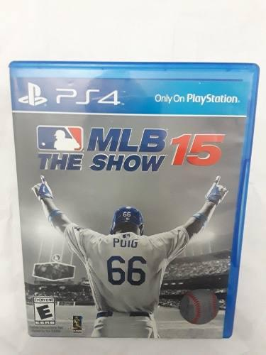 Juego Ps4 Mlb The Show 15