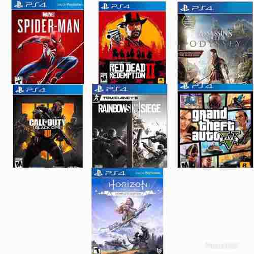 Juegos Playstation 4 Ps4 Originales En Digital O Fisico