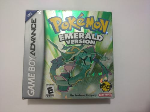Pokemon Esmerald Version Juego De Game Boy Advance Gba