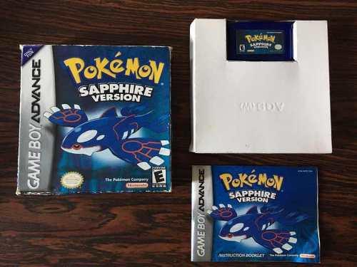 Pokemon Sapphire Version Gameboy Advance Original