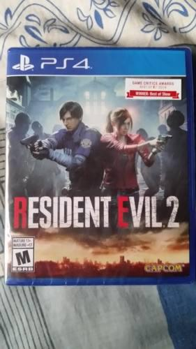 Resident Evil 2 Para Ps4