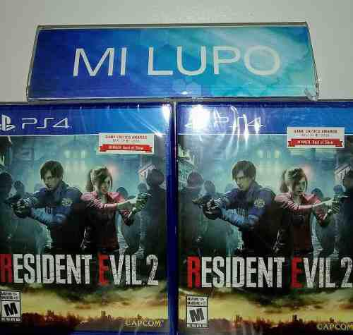 Resident Evil 2 Remake Ps4 Lo Mas Nuevo 2019 ! Ps4