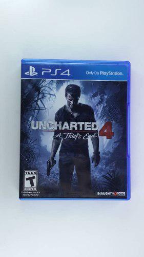 Uncharted 4 Para Ps4 Nuevo