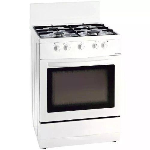 Cocina 4 Hornillas Con Horno Color Blanco Nueva H.aier