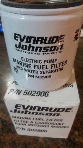 Filtro Gasolina Evinrude Johnson P/n  Original Lancha