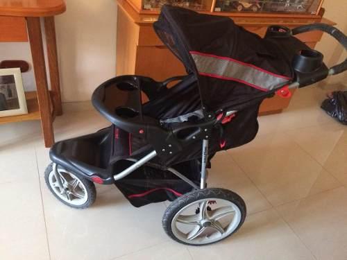 Coche De Bebé Tres Ruedas Y Porta Bebé