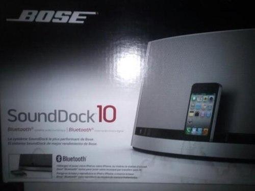 Corneta Bose Sounddock 10 Bluetooth Original