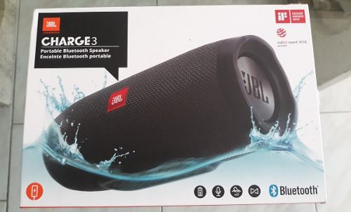 Corneta Jbl Charge 3 Original Nueva (125 Trmps