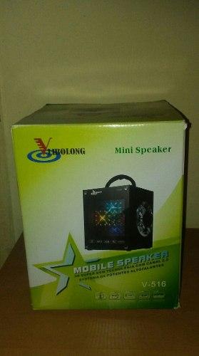 Corneta Mini Speaker (recargable)