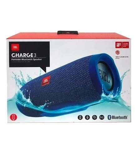 Corneta Portatil Jbl Charge 3, Bluetooth, Micro Sd