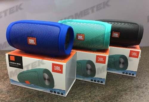 Corneta Portatil Jbl Charge Mini, Bluetooth, Micro Sd