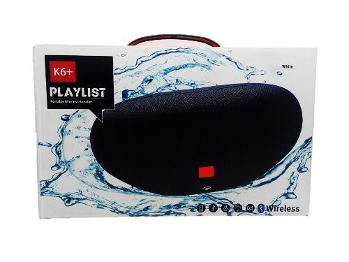 Corneta Portatil Jbl Playlist K6+, Bluetooth, Micro Sd