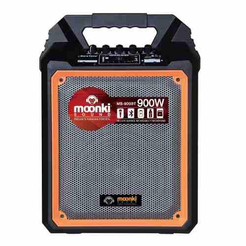 Corneta Portatil Moonki 900w Usb Microfono/control Bagc