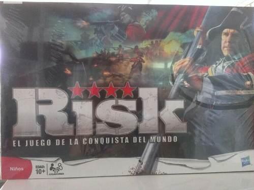 Juego De Mesa Risk.. El Juego De La Conquista Del Mundo..